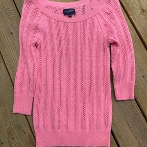 Pink American Eagle sweater size S